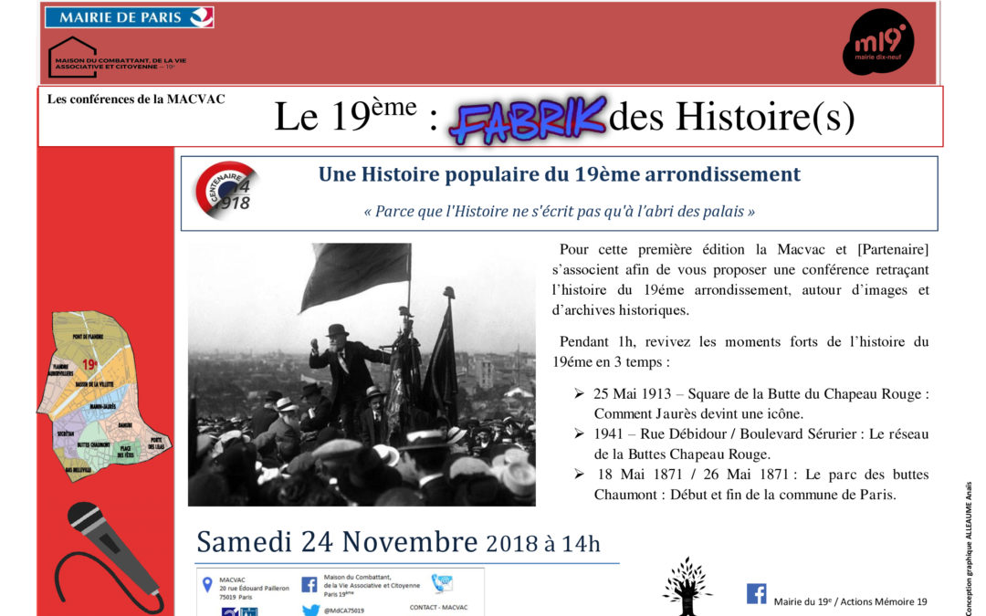 Cycle : Une Histoire populaire du 19ème